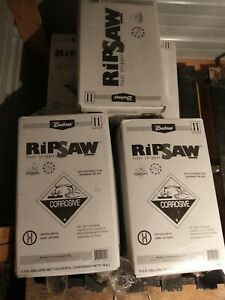 Lot Of 7 Buckeye Ripsaw Floor Stripper 5 Gallons Each Professional Home Repair