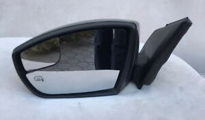 2013 2014 Ford Focus Titanium st 3 Lh Driver Side View Power Signal Mirror Used