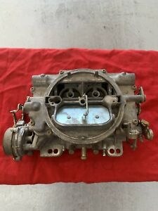 Edelbrock 1411 Carburetor 750 Cfm Carter Weber Afb Hot Rod Rat Rod Vintage