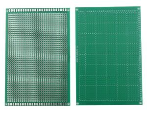 Single Sided Universal Pcb Proto Prototype Perf Board 2 54 Mm 8 12 8 X 12 Cm