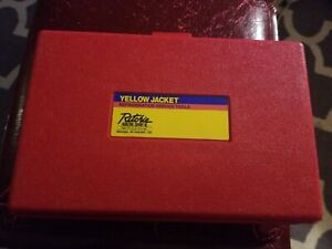 Ritchie Yellow Jacket Flaring swedging Kit used Once rothenberger free Ship