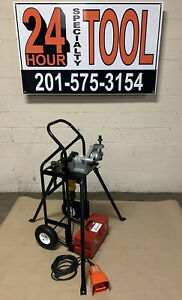 Victaulic Ve106 Pipe Roll Groover Groove n go Grooving 1 1 4 To 6 Ridgid 300