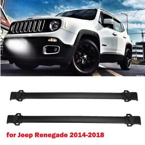 150lbs Aluminum Roof Rack Cross Bars Cargo Carrier For 2014 2018 Jeep Renegade