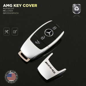 Amg Edition New Remote Key Fob Cover Holder Protect Replace For Mercedes Sport