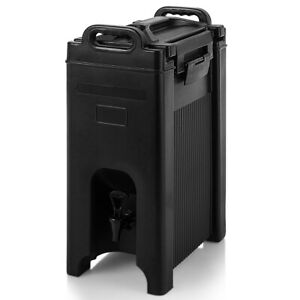 Insulated Beverage Server dispenser 5 Gallon Hot And Cold Drinks With Handles
