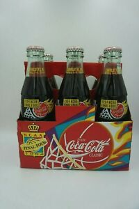 1994 NCAA Final Four Coke Coca-Cola 6 pack of Bottles Vintage Rare