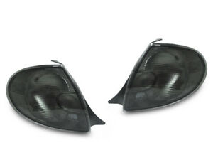 Depo Left And Right Pair Of All Smoke Rear Tail Lights For 2000 2002 Dodge Neon