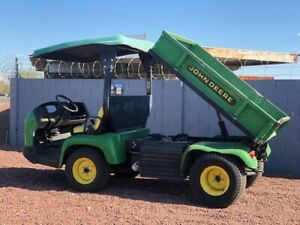 2007 John Deere 2020a Pro Gator With Dump Bed