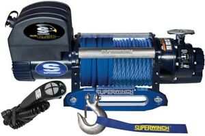Superwinch 12500 Lbs 12 Vdc 3 8in X 80ft Synthetic Rope Talon 12 5sr Winch Suw