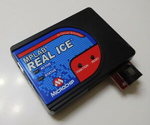 Genuine Mplab Real Ice In circuit Emulator 10 00401 rd With 02 01878 rb Module