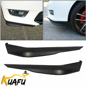 For 13 14 15 Honda Accord 4dr Sedan Hfp Sport Front Bumper Corner Lip Kit