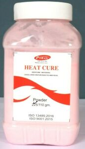 Pyrax Heat Cure Denture Material heat Cure Acrylic Denture Base Powder 200 Gm