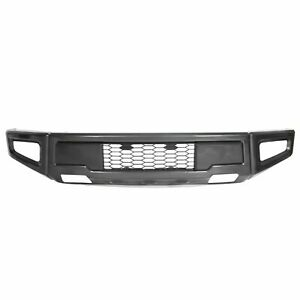 Raptor Style Steel Front Bumper Assembly For F 150 F150 2015 2017 Gray
