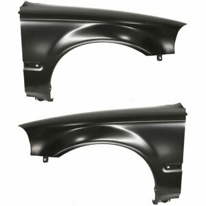 Fender For 96 98 Honda Civic Set Of 2 Front Driver Passenger Side Primed Steel