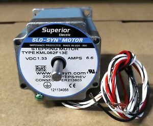 Superior Electric Kml062f13e Slo syn Motor Brand New But Old