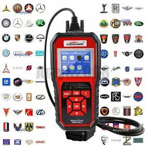 Konnwei Can Obdii Eobd Diesel gasoline Car Fault Code Reader Diagnostic Scanner