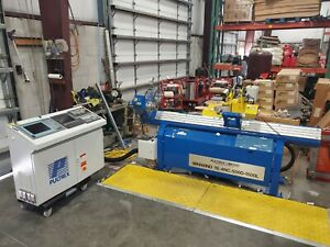 Pultrex Filament Winding Machine W Siemens Controls Leister Hot Air Welder