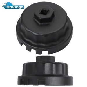 64mm 14flute Oil Filter Cap Wrench Tool Fit For Toyota Lexus 2 5l 5 7l Engines