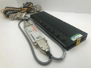 Parker Mx80l 200mm Precision Linear Servo Motor Actuated Stage 01um Resolution