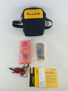 Fluke 117 Multimeter Kit2t With 322 Clamp Meter And Tl175 Test Leads Case