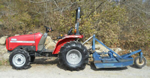Massey Ferguson 1428v W 42 cutter 4wd Power Steering Used Tractor Athens Oh