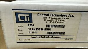 Control Technology 2556 16 Point Isolated Thermocouple Module New But Old