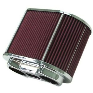 Air Cleaner Assembly Fits Ida Epc 5 5x9 Oval 6 Tall Dunebuggy Vw