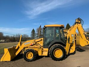 2002 John Deere 310sg 4x4 Tractor Loader Backhoe Low Hours