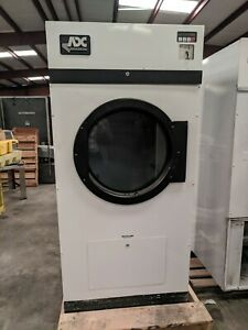 American Dryer Corp Adg25v 25lb Coin Natural Gas Dryer