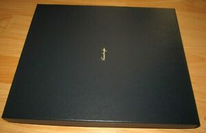 Cambridge Leather Oracle Black Office Portfolio Legal Pad Collectible Organizer