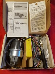 Sears Speed Control 318 20309 New Nib Vintage Cruise Control Electronic