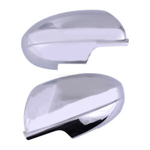 2pcs Car Side Door Rearview Wing Mirror Cap Cover Part Fit For Mazda 6 2009 2012