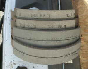 1948 1949 50 1951 52 1953 54 Hudson 1949 50 52 53 54 Pontiac New 18 Brake Shoes