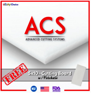 🇺🇸 Commercial Cutting Board Large White Plastic Cutting Boards 18