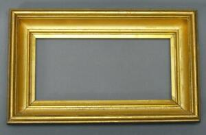 Antique Turn Of The Century Small Gold Frame 12 1 4 X 7 1 2