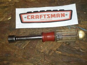 Craftsman 1 2 Nut Driver H Series Made In The Usa 41976