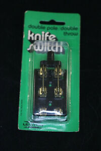 New Leviton 25a 125v Double Pole Throw Knife Electrical Switch 800 19919