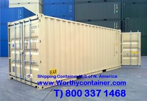 Double Door dd 20 New One Trip Shipping Container In Houston Tx
