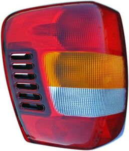 Tail Light Assembly Left Dorman 1610320 Fits 99 02 Jeep Grand Cherokee
