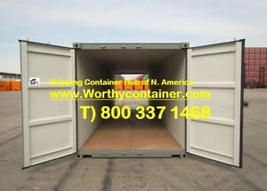 Double Door dd 40 New One Trip Shipping Container In Houston tx