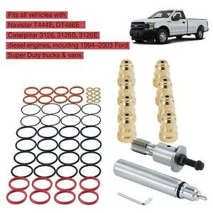 1994 2003 7 3l Ford Powerstroke Injector Sleeve Cup Removal Tool And Install Kit