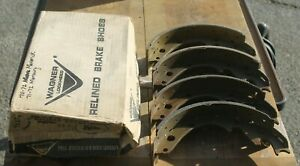 1959 60 62 1964 65 68 69 70 71 72 1973 Dodge Truck New Wagner Rear Brake Shoes