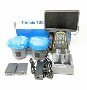 Trimble R10 Base Rover Rtk Kit With Tsc7 Field Collector Uhf Kit For Surveying