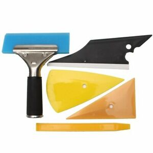 5pcs Car Window Tinting Wrapping Installation Tools Kit Set Contour Squeegee