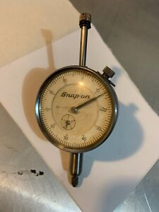 Vintage Snap on Tools Gauge Dial Timing Untested 001