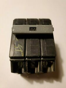 Chb3100 Cutler Hammer 100 Amp 3 Pole Circuit Breaker Bolt In Type 240 Vac Used