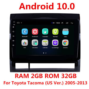 9 Android Stereo Radio Gps Navigation 2 32gb For Toyota Tacoma Hilux 2005 2013