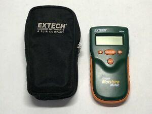 Extech M0280 Pinless Moisture Meter Unit Only W Carrying Bag Tested