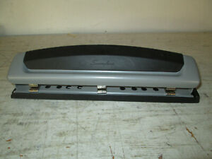Swingline 3 Hole Punch Desktop Great Used Condition