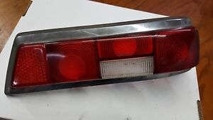Mercedes Taillight 190d 200d Passenger Used Oe Benz W o Chrome Tail Fin B
